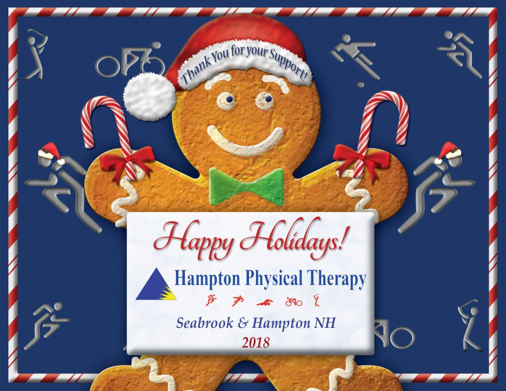 Happy Holidays from Hampton Physical Therapy!
